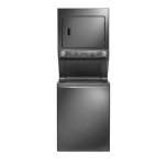 Frigidaire�Stacked Unit Design �9 wash cycles with 5 temperature   �9 dry cycles with 4 dryer temperature selections �ENERGY STAR certified