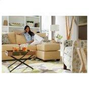 Eden Sofa & Ottoman W/ Chaise Cushion Alternate Image