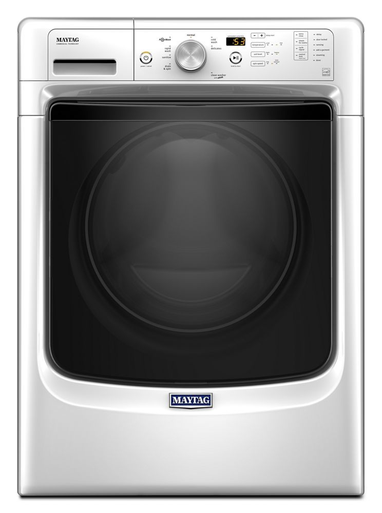 Front Load Washer with Steam for Stains Option and PowerWash(R) System - 4.3 cu. ft.  White