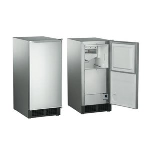 Scotsman Brilliance(r) Gourmet Cuber Stainless Steel Wrap & Door, Accepts Panels, Built-In Pump