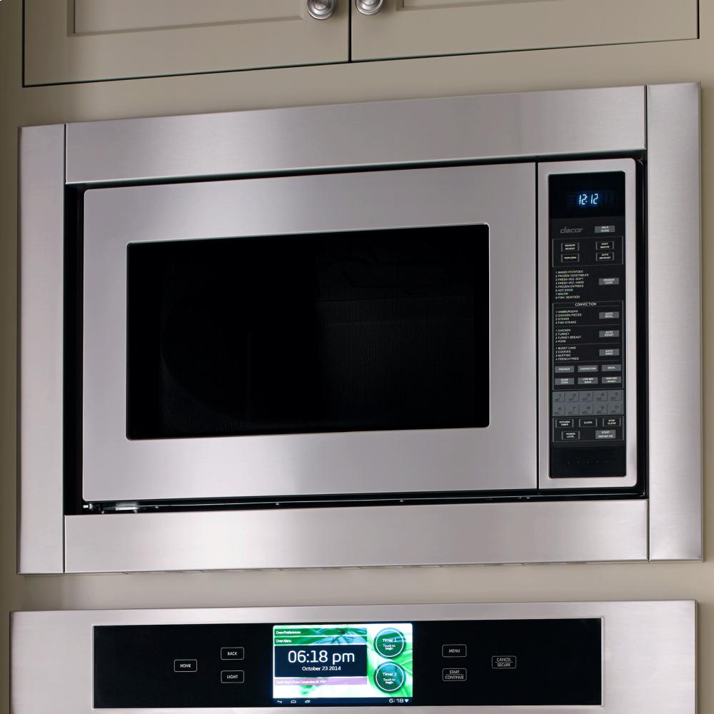 Countertop Microwave Convection Oven With Trim Kit : DCM24S Dacor Discovery 24