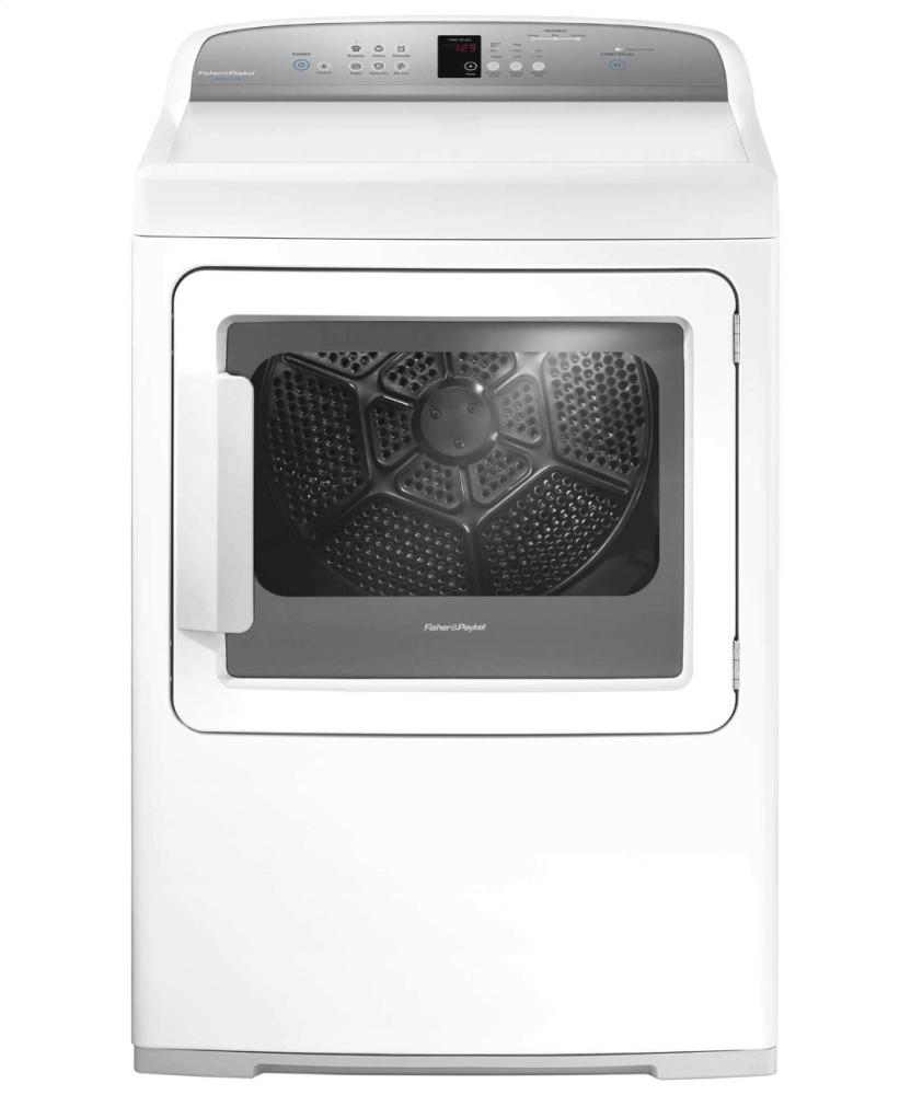 Electric Dryer, SmartTouch Controls  White