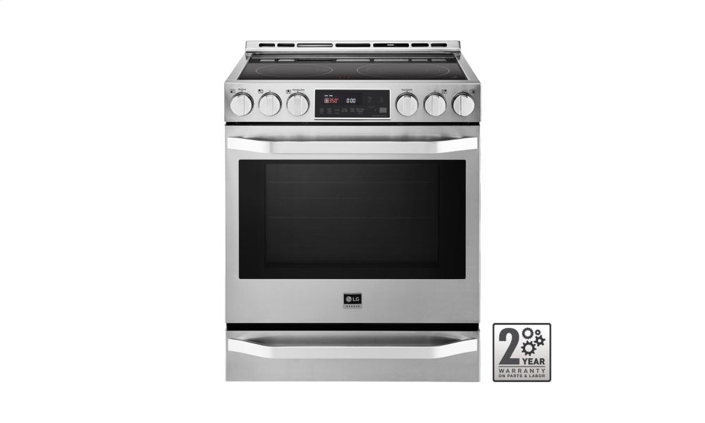 LG STUDIO - 6.3 cu. ft. Electric Slide-In-range with ProBake Convection(R)