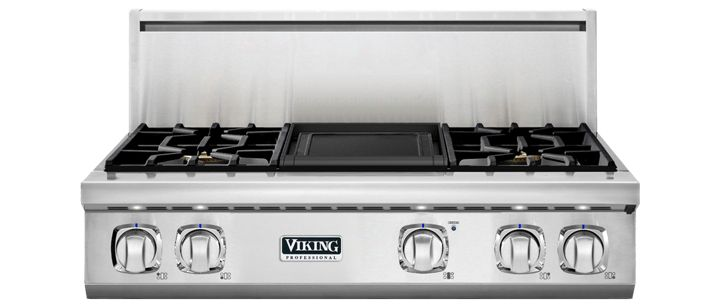 "36"" 7 Series Gas Rangetop, Propane Gas
