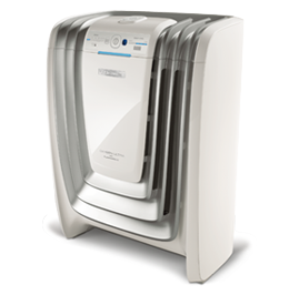 Oxygen Ultra Air Cleaner  White