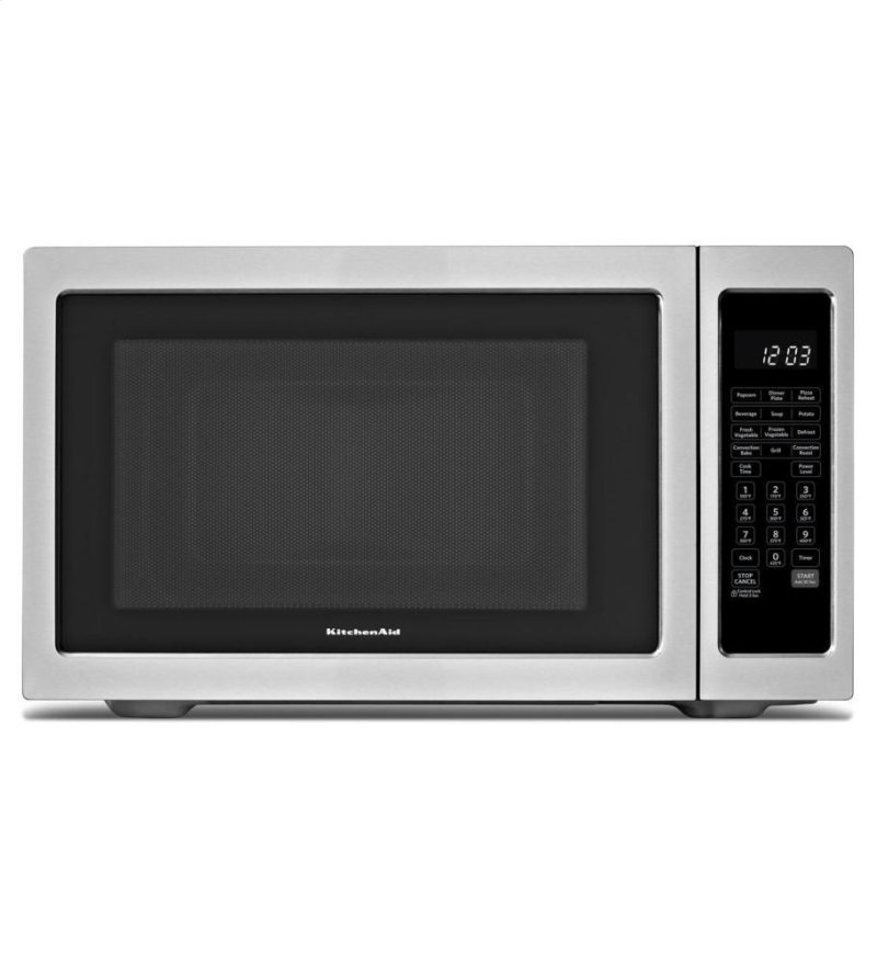 Countertop Oven Canada : KitchenAid? 1200-Watt Countertop Convection Microwave Oven, Architect ...