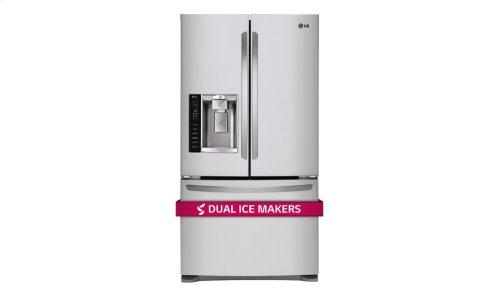 24 cu. ft. Ultra Capacity 3-Door French Door Refrigerator w/Dual Ice Makers