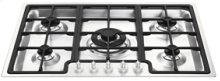 """72CM (approx. 28"""") """"Linea"""" Gas Cooktop Stainless Steel"""