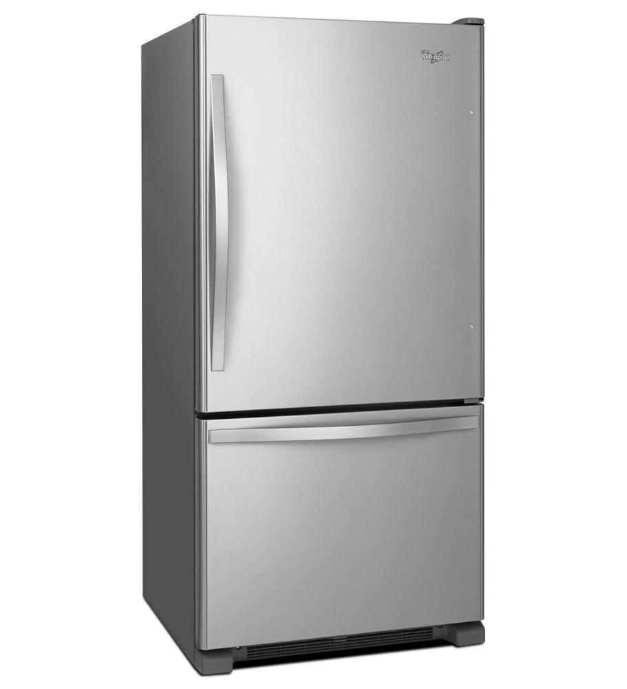 Wrb329dmbm Whirlpool 30 Inches Wide Bottom Freezer