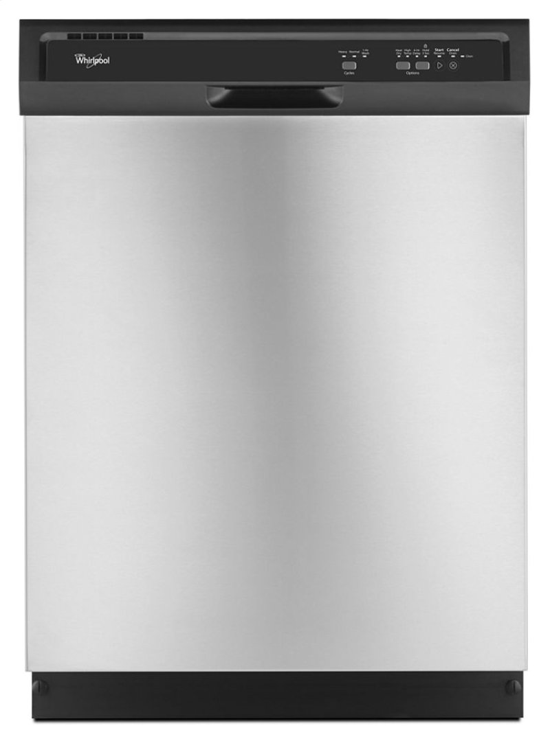 Energy Star Kitchen Appliances Wdf320pads In Black On Stainless By Whirlpool In Huntsville Al