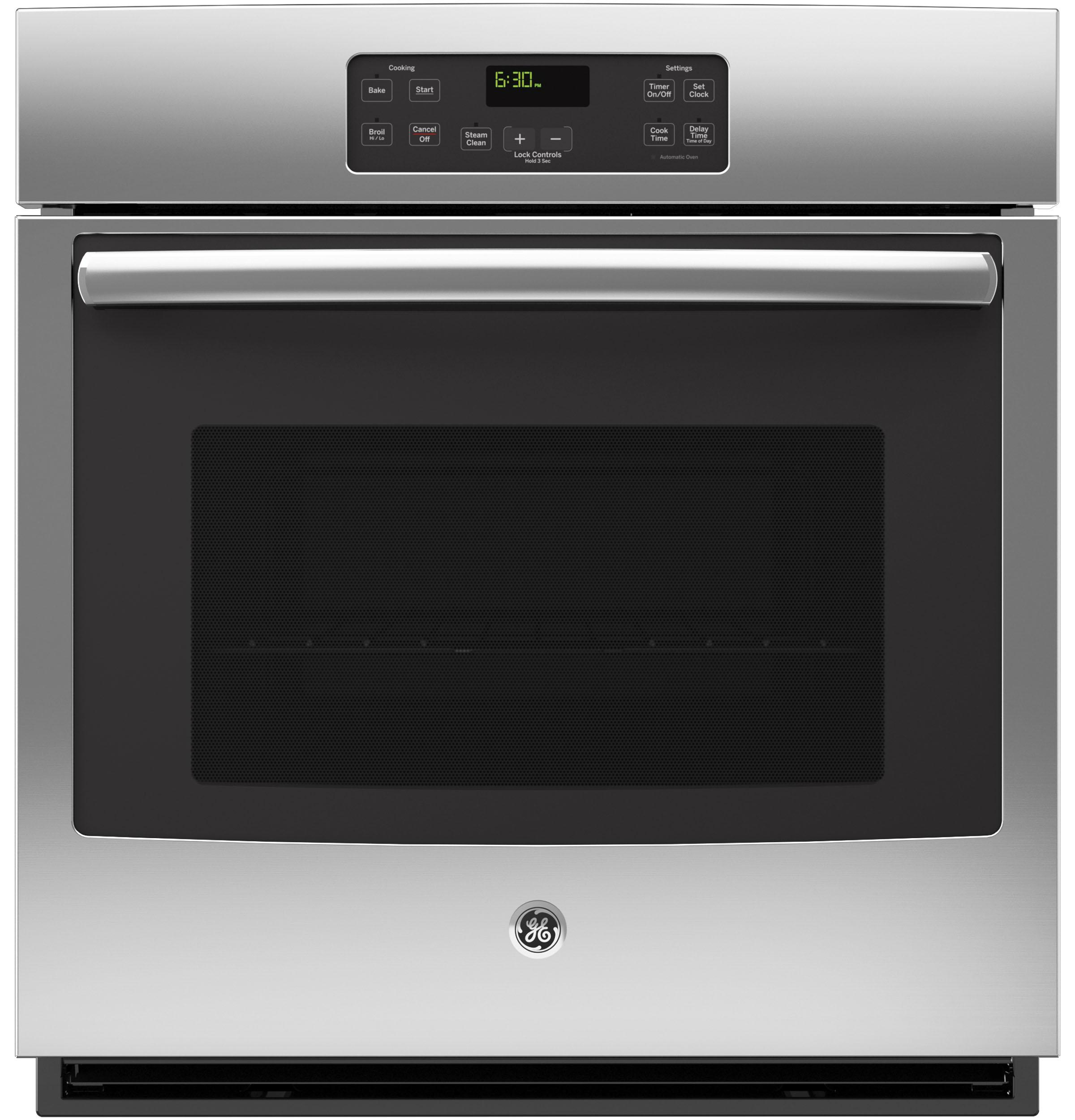 """GE(R) 27"""" Built-In Single Wall Oven  Stainless Steel"""