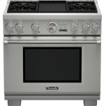 Thermador36 inch Professional Series Pro Grand Commercial Depth All Gas Range PRG364JDG