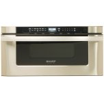 SharpSharp Microwave Drawer Oven, 30 in. 1.2 cu. ft. 1000W Stainless Steel