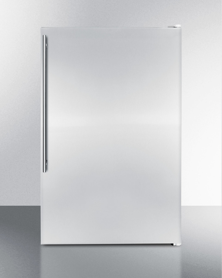 Slim Counter Height Household All-freezer With 5 CU.FT. Capacity and Stainless Steel Door; Replaces Fs60mssvh\n