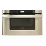 SharpSharp Microwave Drawer Oven, 24 in. 1.2 cu. ft. 1000W Stainless Steel