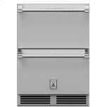 Hestan24&quot Hestan Undercounter Refrigerator Drawer and Freezer Drawer - GRF Series