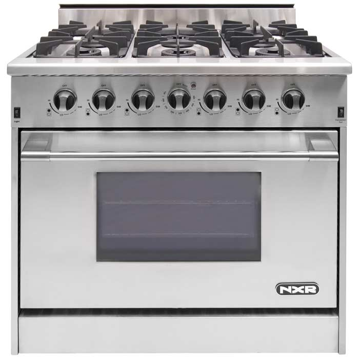 "NXR 36"" Professional Range with Six Burners, Convection Oven, Propane Gas (DRGB3602-LP) Special Offer available for a limited time!"