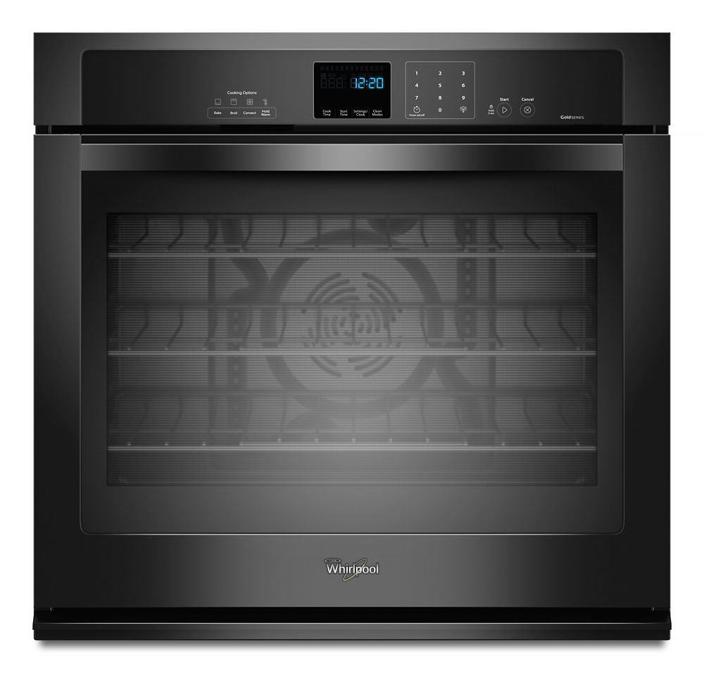 Gold(R) 4.3 cu. ft. Single Wall Oven with True Convection Cooking  Black