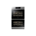 DacorDacor 30&quot - 9.6 Cu. Ft. Smart Self-Clean Convection Double Electric Wall Oven with Steam Assist