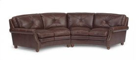 Suffolk Leather Sectional