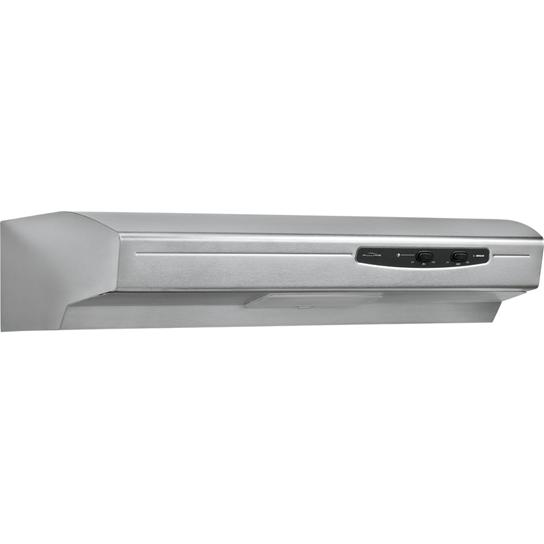 "Broan 220 CFM, 30"" Undercabinet Hood in Stainless Steel