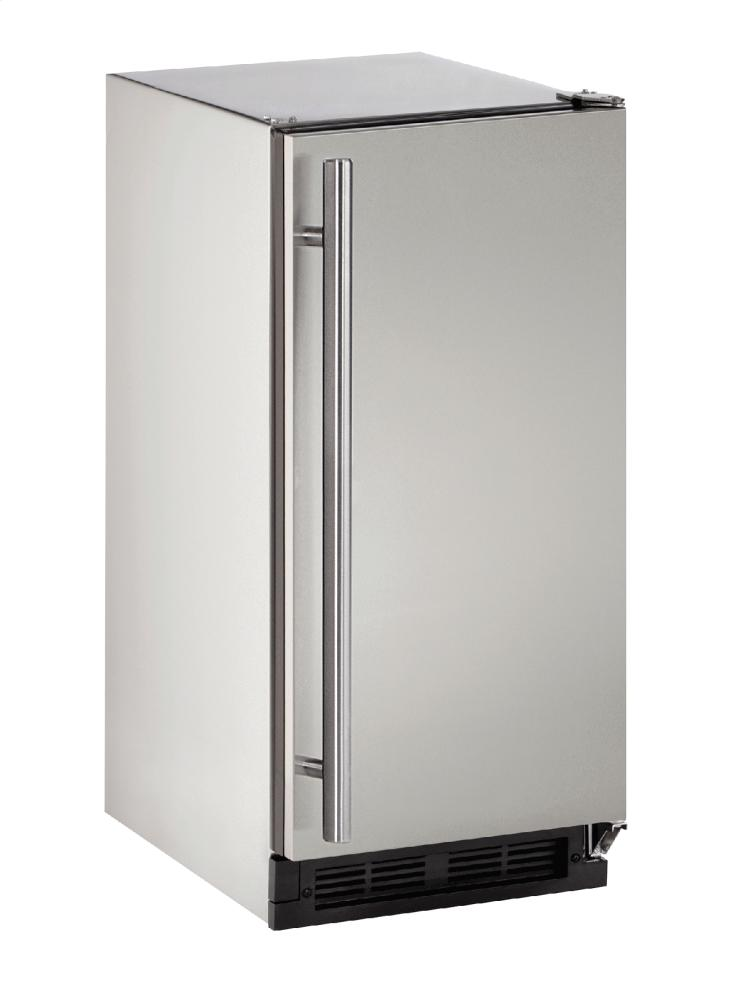 """Outdoor Series 15"""" Outdoor Refrigerator With Stainless Solid Finish and Field Reversible Door Swing  Stainless Solid"""