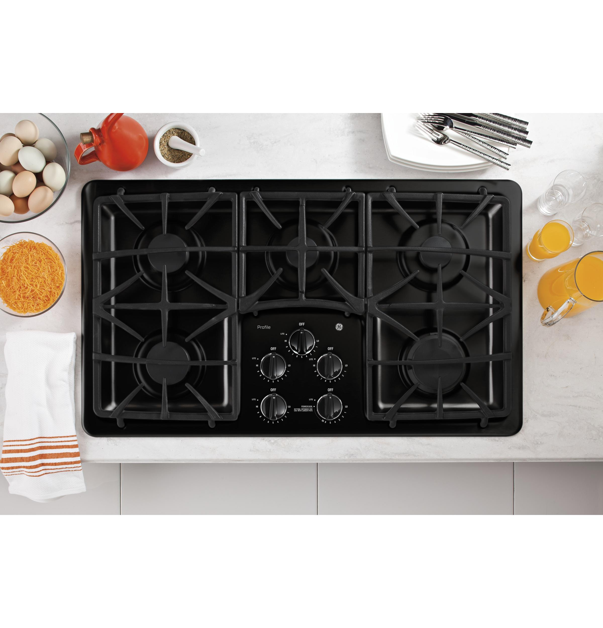 GE APPLIANCES PGP966DETBB