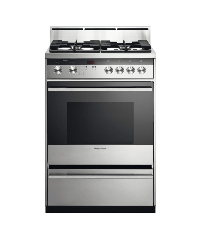 Freestanding Gas Range, 24