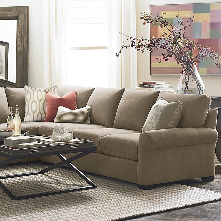 Hidden · Additional American Casual Scarborough Large L Shaped Sectional