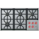 """WOLF36"""" Professional Gas Cooktop - 5 Burners"""