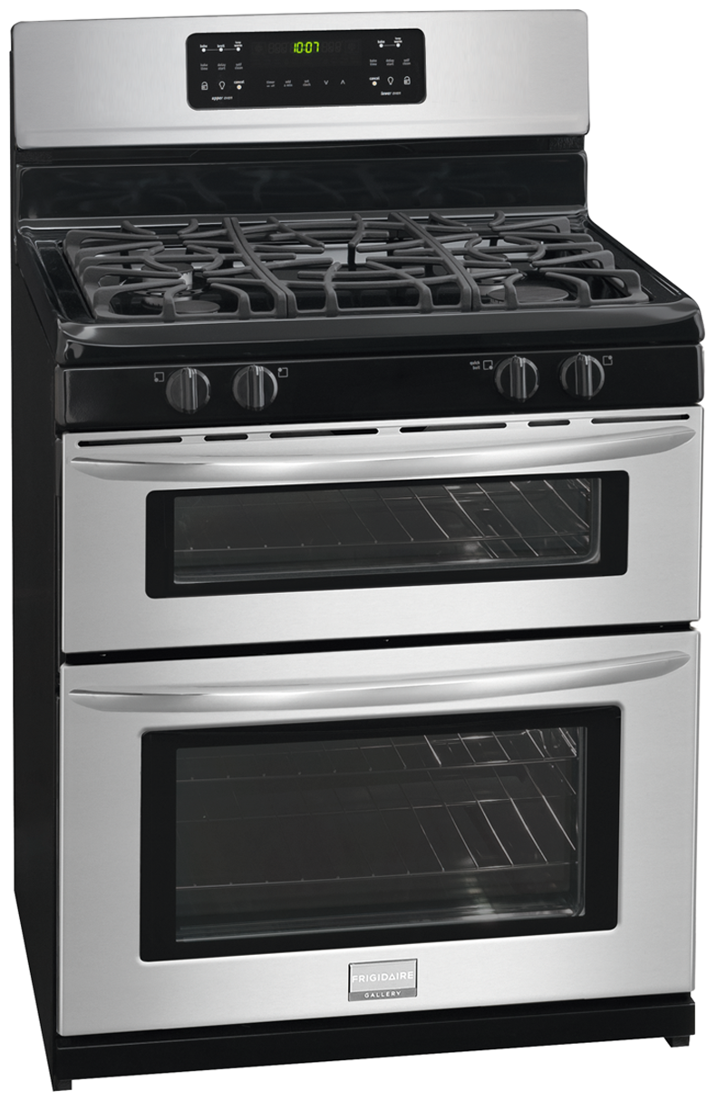 fggf301dnf frigidaire gallery frigidaire gallery 30 39 39 freestanding gas double oven range. Black Bedroom Furniture Sets. Home Design Ideas
