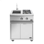 "Dcs 30"" Liberty  Side Burner/ Sink, Lp Gas"