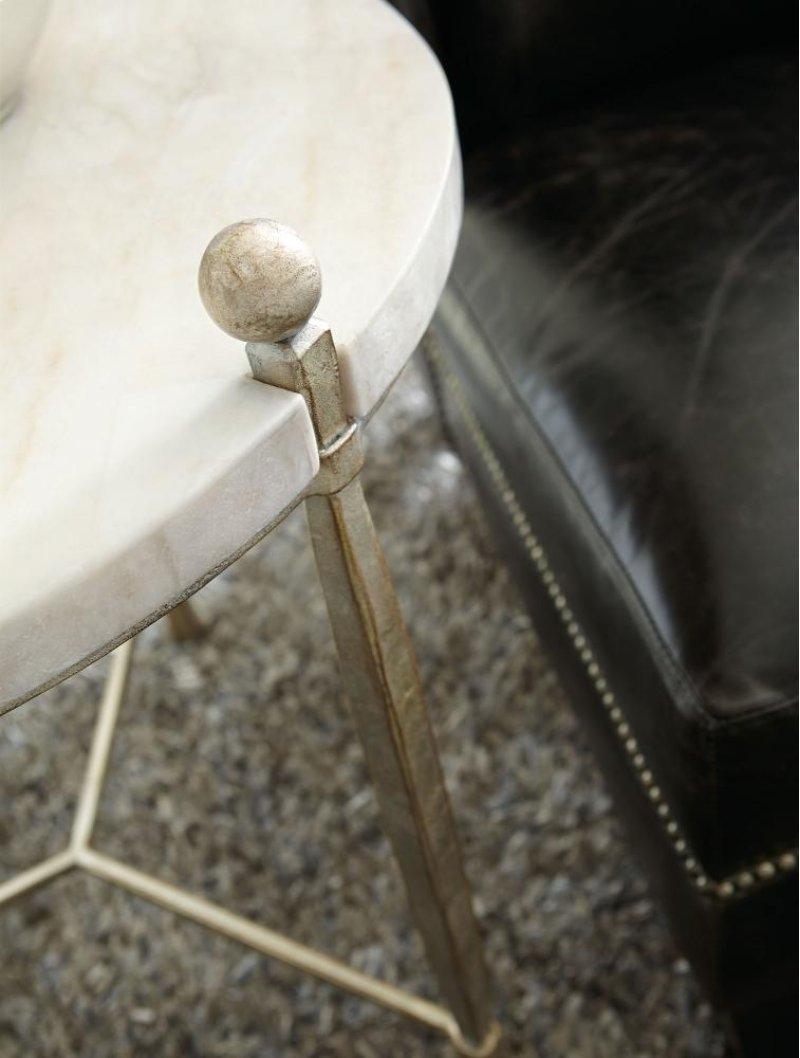 Round Chairside Table 563122 In By Bernhardt In Jacksonville Fl Clarion Round