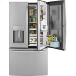 GE ProfileGE PROFILE(TM) Series 22.2 Cu. Ft. Counter-Depth French-Door Refrigerator with Door In Door and Hands-Free AutoFill