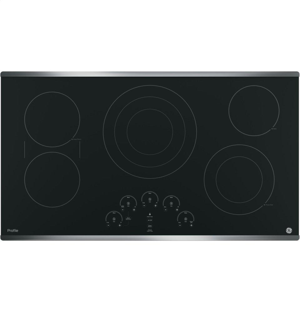 "GE Profile(TM) Series 36"" Built-In Touch Control Cooktop