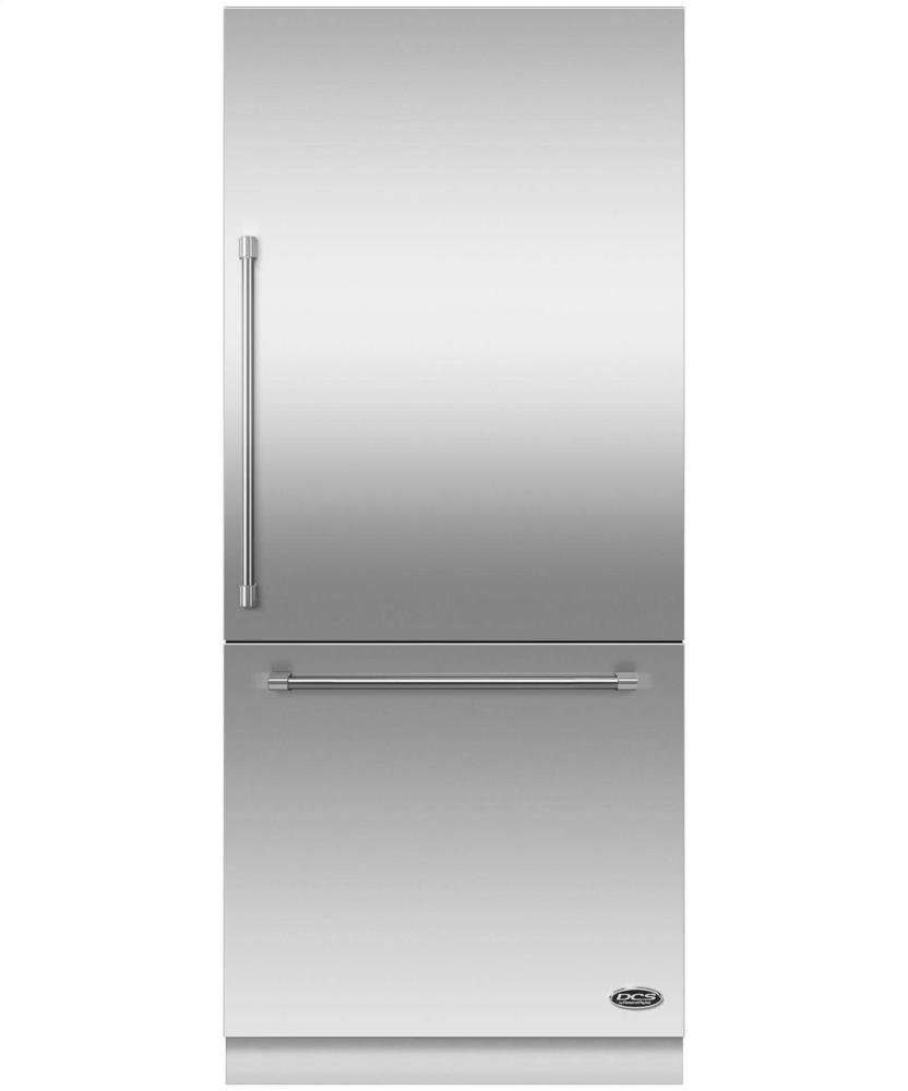 "DCS Activesmart(TM) Refrigerator 36"" Integrated Bottom Freezer With Ice "" 80"" / 84"" Tall"