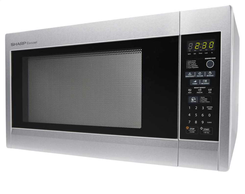 sharp carousel microwave manual r551zs