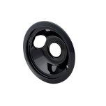 FrigidaireSmart Choice 6'' Black Porcelain Drip Bowl, Fits Specific