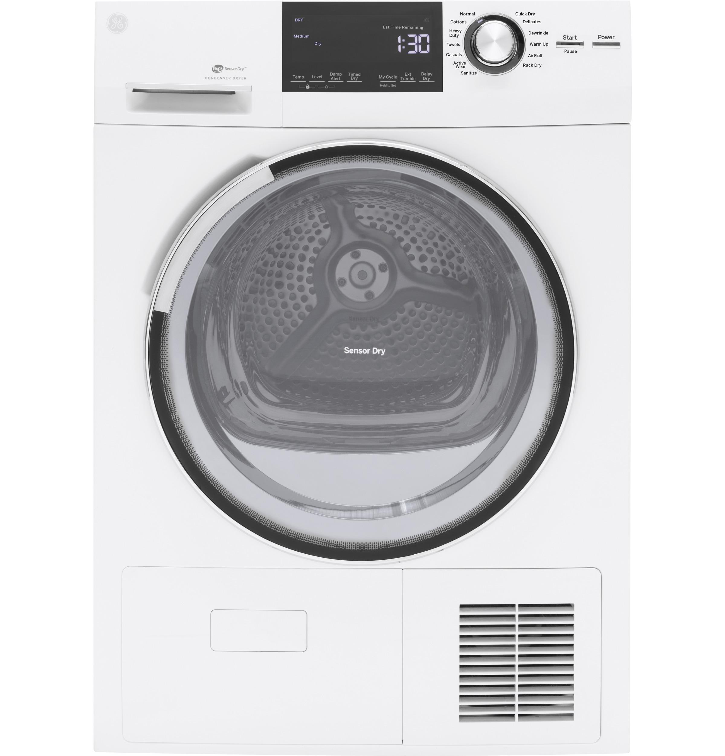 GE(R) 4.0 Cu.Ft. Stainless Steel Capacity 24