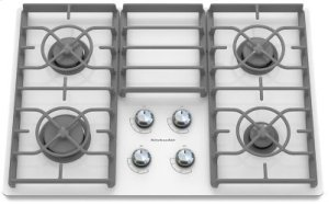 Danby Countertop Dishwasher Vancouver : KGCC506RWW in White by KitchenAid in Vancouver, WA - 30-Inch 4 Burner ...