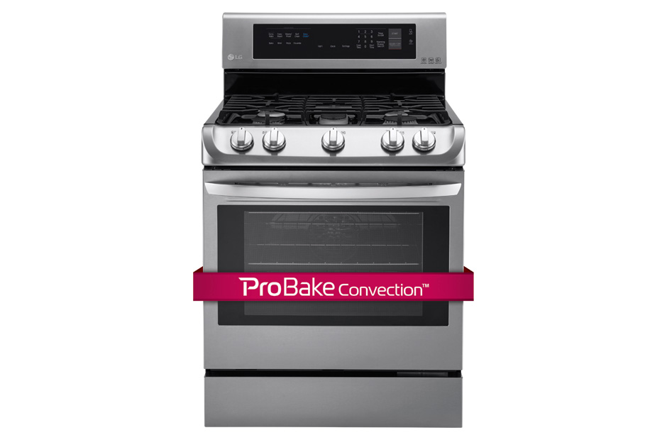 6.3 cu. ft. Gas Single Oven Range with ProBake Convection(R) and EasyClean(R)