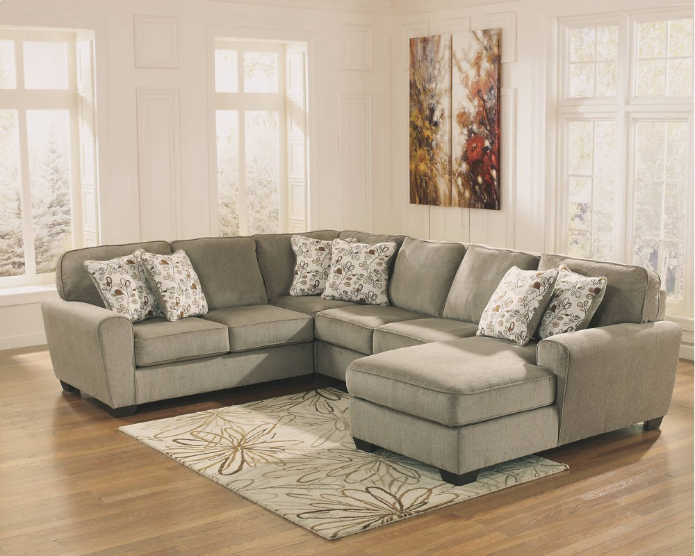 hidden additional armless loveseat