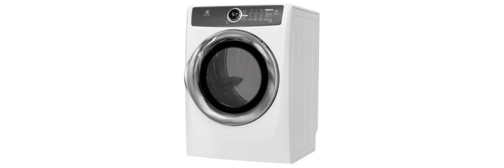 Front Load Perfect Steam(TM) Gas Dryer with Instant Refresh and 8 cycles - 8.0 Cu. Ft.