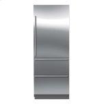 Sub ZeroSub Zero IT-30CIID Refrigerator/Freezer with Internal Dispenser Left Hinge