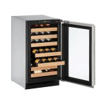 U-LineU-Line 2000 Series 18&quot Wine Captain(r) Model With Integrated Frame Finish and Field Reversible Door Swing (115 Volts / 60 Hz)