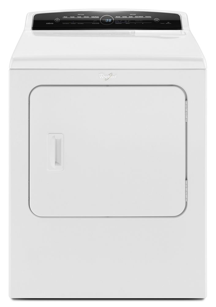 7.0 cu. ft. High-Efficiency Electric Dryer Steam Dryer