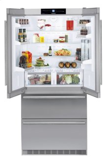 "36"" Fridge-freezer with BioFresh and NoFrost"