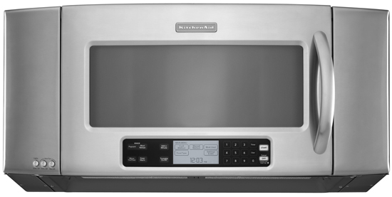 Microwave With Exhaust Fan ~ Khms sss kitchenaid