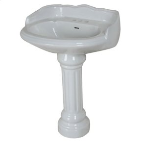 Pedestal Bathroom Sinks on In Westchester  Ny   Chevington Large Victorian Pedestal Bathroom Sink