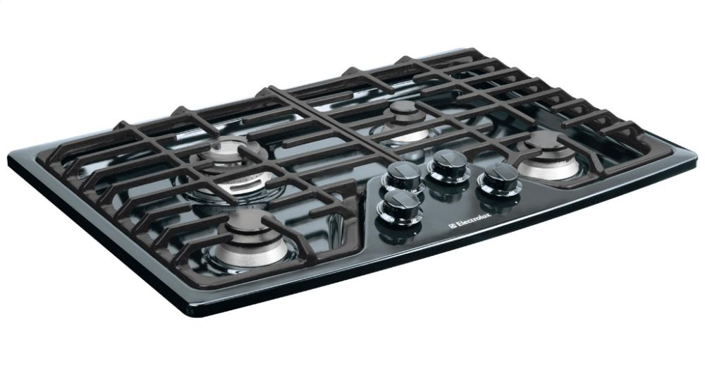 Discount Electric Cooktops ~ Ew gc gb electrolux  gas cooktop black warehouse